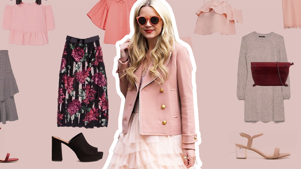 This is How a Fashion Girl Dresses Up for Valentine's Day