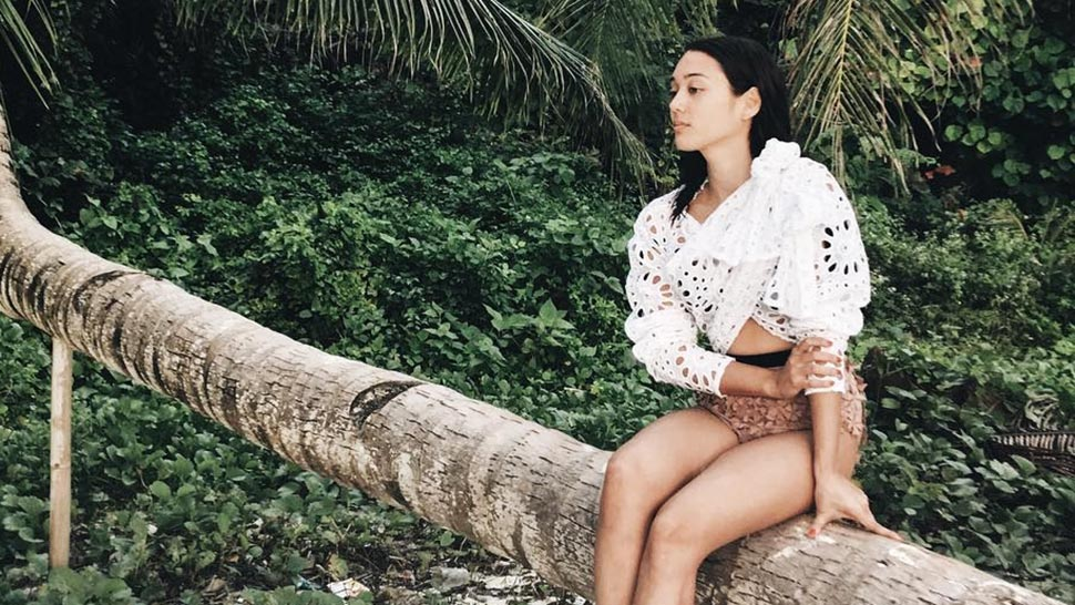 Lotd: Kim Jones's Floral Swimsuit Is Every Fashion Girl's Dream