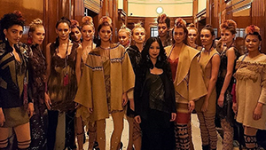 Local Designer Happy Andrada Is Featured On Vogue.co.uk After First Solo London Show