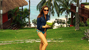 Filipino Designer Monique Lhuillier's Palawan Vacation Is Making Us Wish For A Summer Getaway