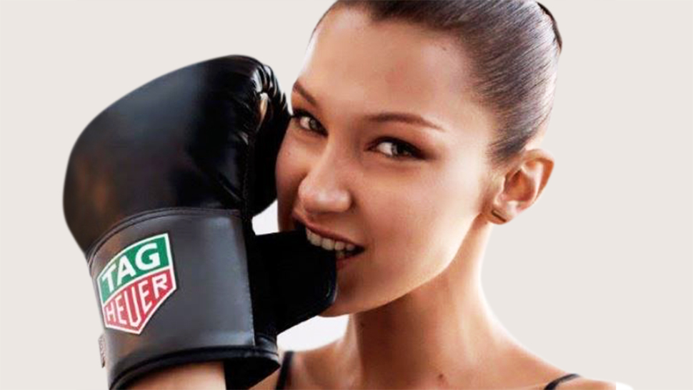 Bella Hadid Is Tag Heuer's Newest Ambassador