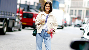 17 Chic Denim And White Outfit Combos To Cop This Summer