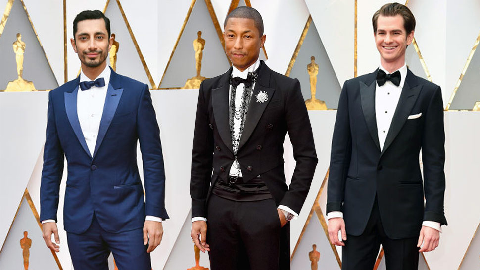 The Best Dressed Men at the Oscars 2017