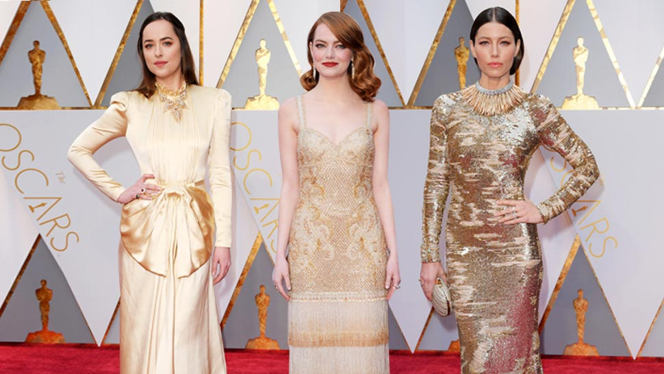 The Best Dressed Celebrities at the Oscars 2017 Red Carpet