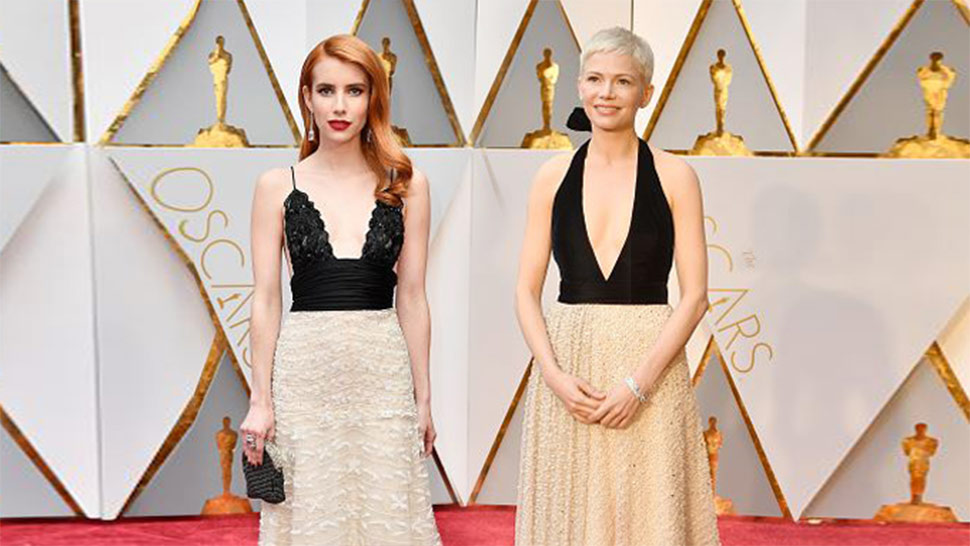 The Most Surprising Twinning Moments at the Oscars 2017 Red Carpet
