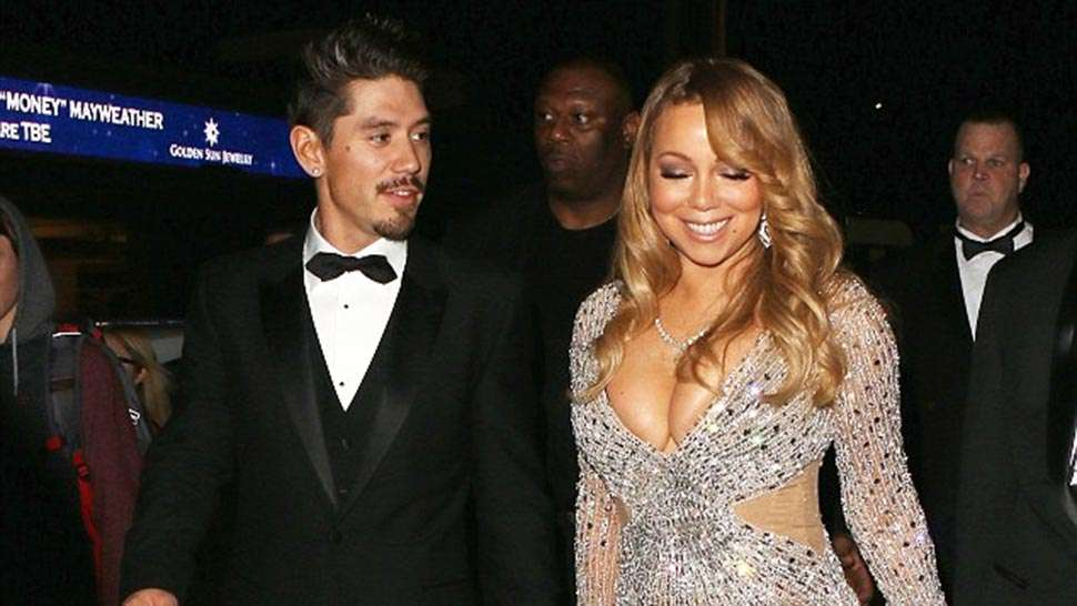 Mariah Carey Wears Michael Cinco To Floyd Mayweather's Birthday Party