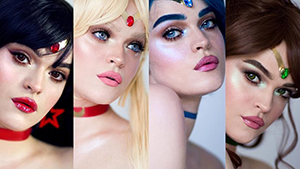 This Makeup Artist Transformed Herself Into Every Sailor Moon Character