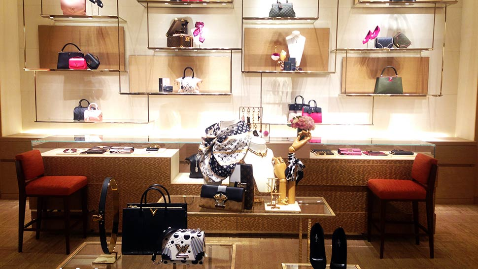 Take A Tour Of Louis Vuitton's New Store At Solaire