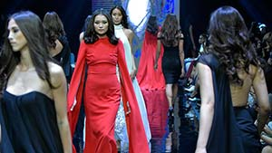 Manila Fashion Fest - The Next: Pablo Cabahug's Dark Romanticism
