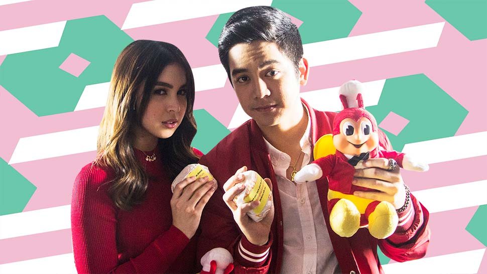 Julia Barretto and Joshua Garcia Show Us How to Do Fashion Poses with a Burger