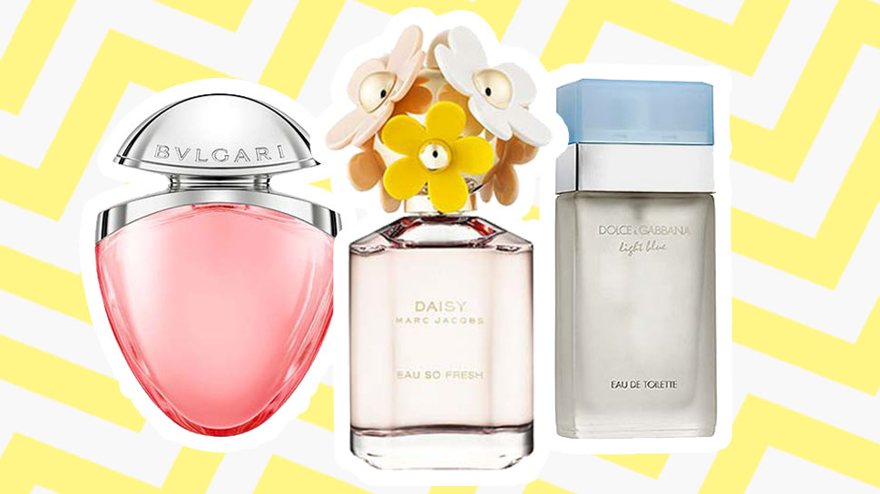 10 Light Fragrances to Keep You Smelling Fresh This Summer