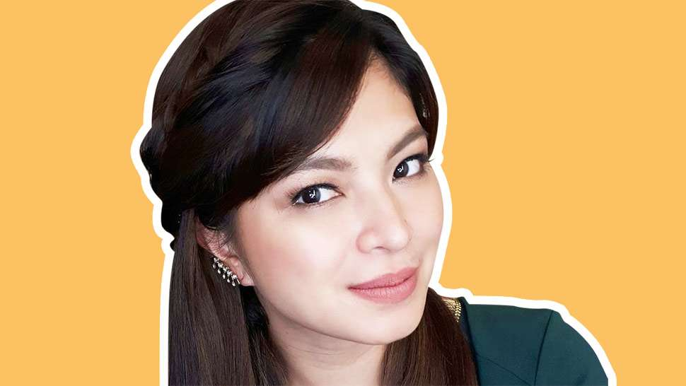 LOTD: Angel Locsin Wore Long Hair for a Day and Here's How She Did It