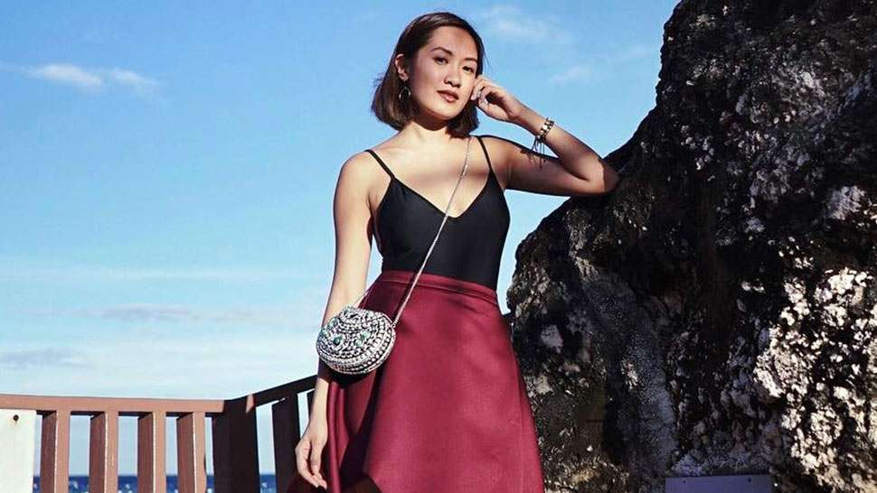 Lotd: Here's How To Wear Your Swimsuit To A Formal Event, As Demonstrated By Laureen Uy