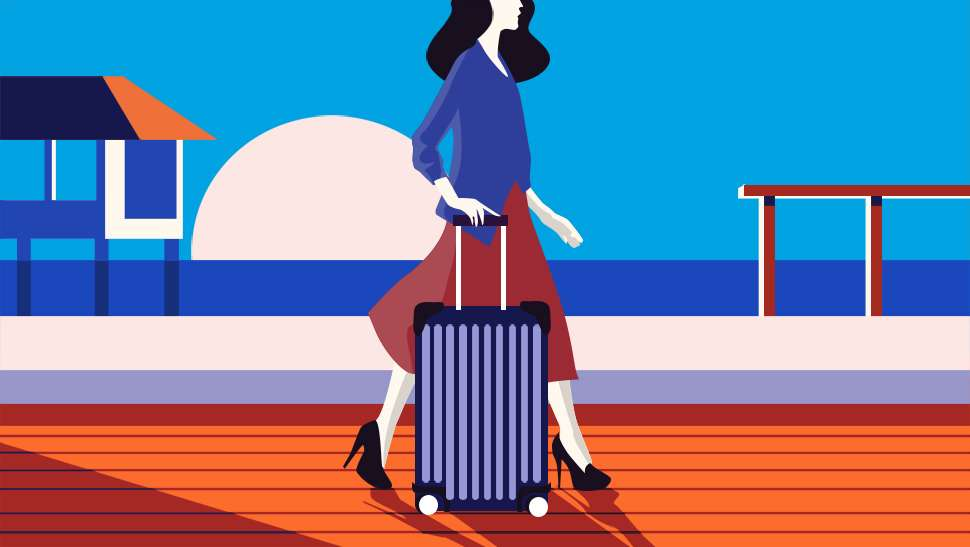 How A Stylish Girl Packs For An Instagram-ready Vacation