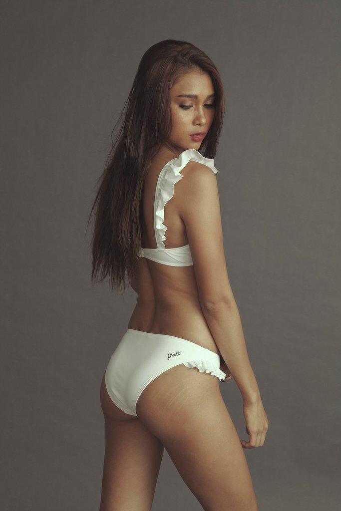 Aura micro bikini asian girl