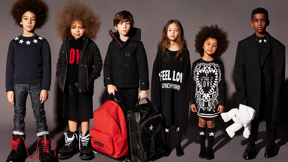 Here's Your First Look At Givenchy's Upcoming Childrenswear Line