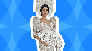 Lotd: Binibining Pilipinas Contestant Mariel De Leon Looks Stunning In Her Cary Santiago Gown