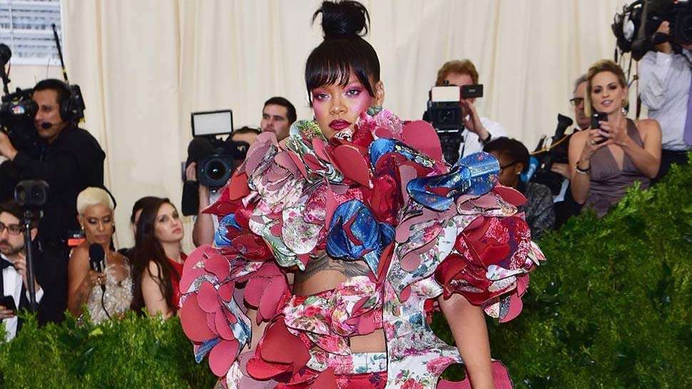 All The Celebs Who Wore Comme Des Garçons To The Met Gala 2017