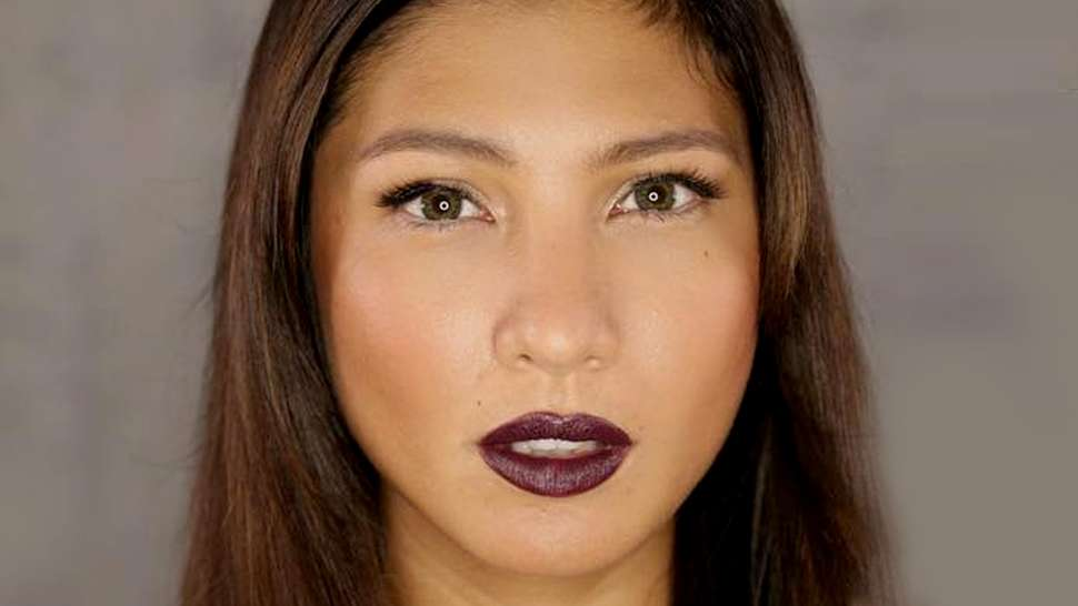 This Shade Of Dark Lipstick Will Look Especially Great On Morenas