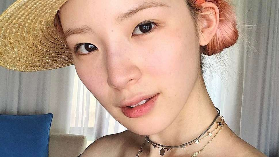 LOTD: Irene Kim Has a Crazy New Hair Color