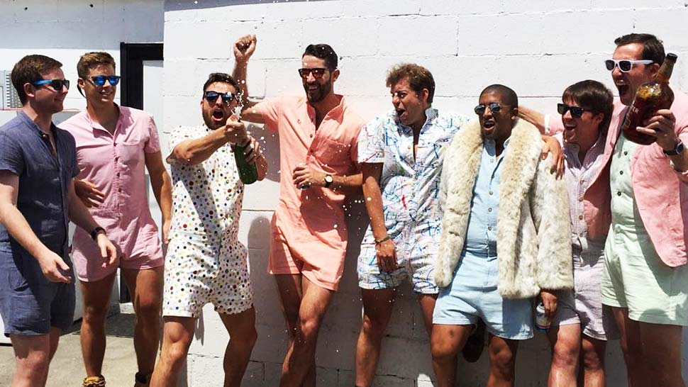 Would You Ever Ask Your Man to Wear These Rompers?
