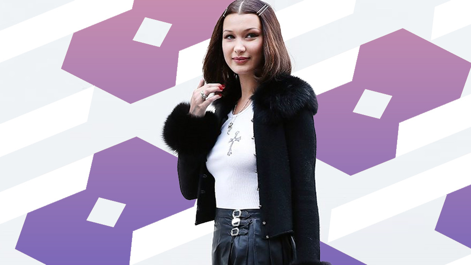 LOTD: Bella Hadid Steps Out as '90s Fashion Icon Cher Horowitz