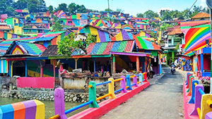 Here's How You Can Visit Indonesia's Dreamy Rainbow Village