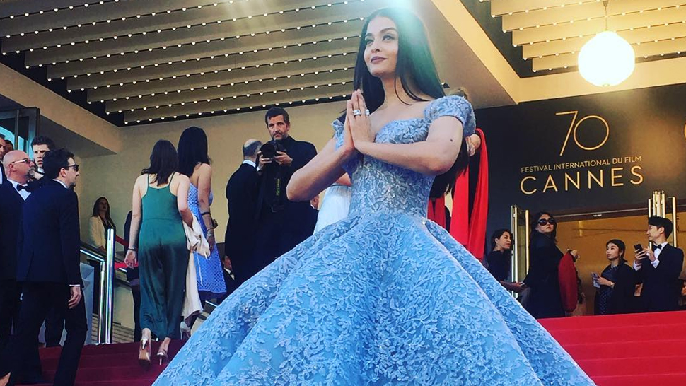 The Show-stopping Cinderella Gown at Cannes Was Designed by a Filipino