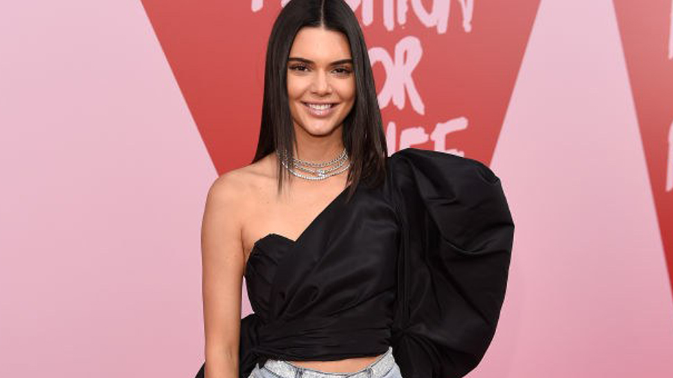 Kendall Jenner Shows Up At Cannes Red Carpet In Denim Shorts