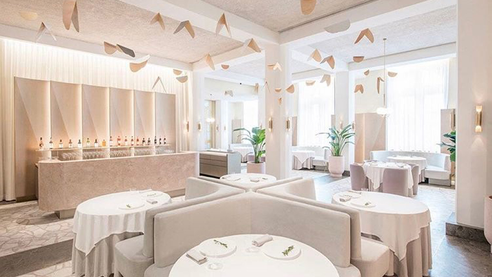This Rose Quartz Colored Restaurant Looks Too Good to Be True