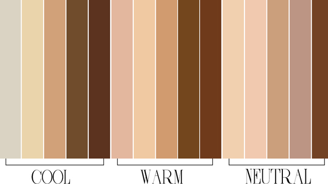 These are the best colors to wear according to your skin for Cool neutral paint colors
