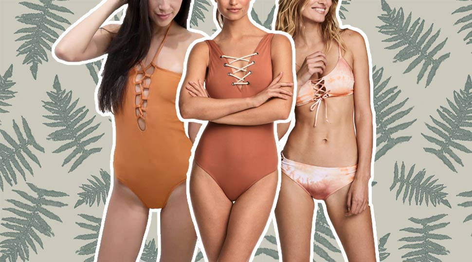11 Chic Lace-Up Swimsuits to Shop Now