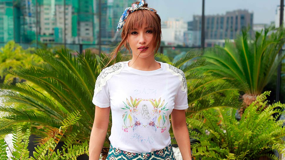 Solenn Heussaff Designed These T-shirts To Help Build Public School Classrooms For Kids