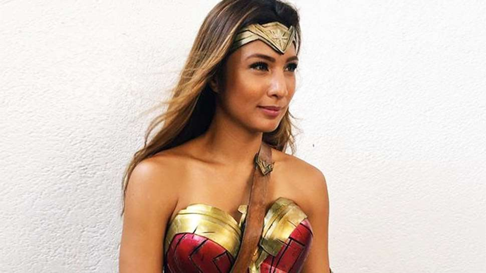 You Have to See Bubbles Paraiso Dressed Up As Wonder Woman