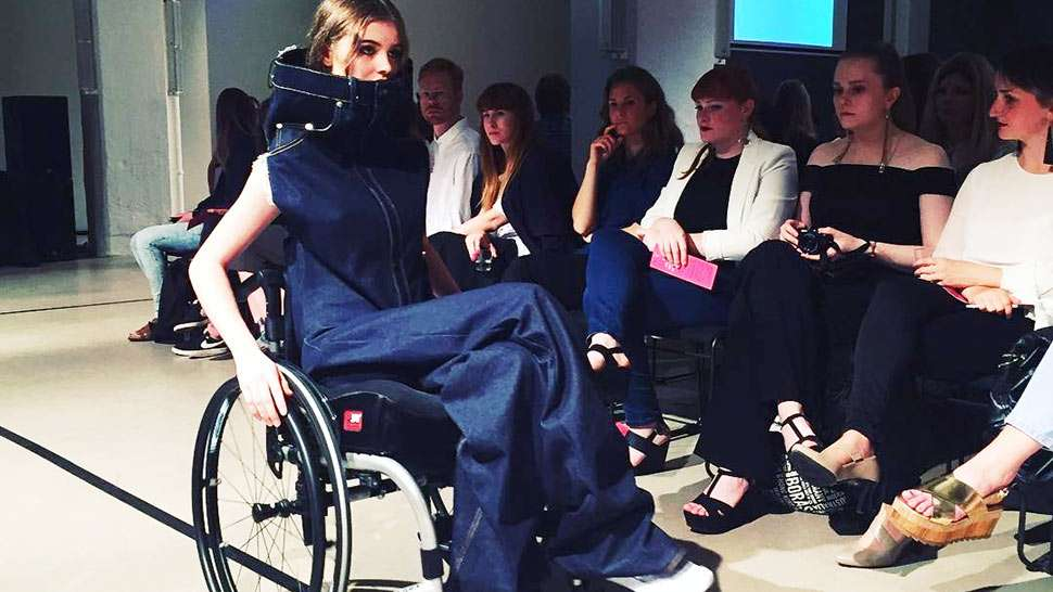 Moscow Fashion Week Sends Down Models in Wheelchairs on the Runway