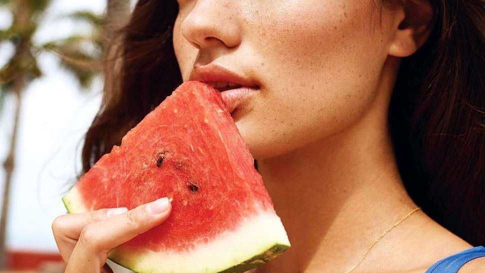 This Homemade Watermelon Sheet Mask Recipe Is Genius