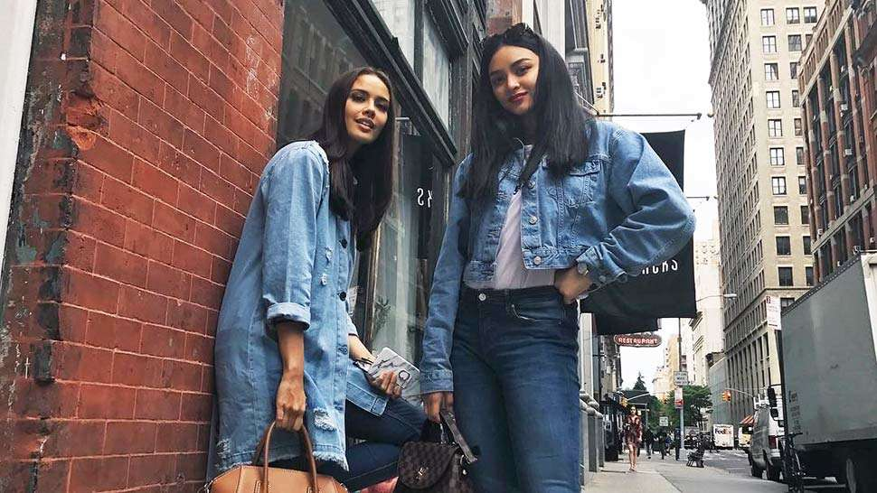 Lotd: Megan Young And Kylie Verzosa Went Twinning In Denim