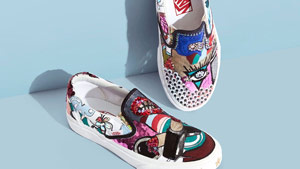 This Marc Jacobs X Vans Collab Makes A Case For Wearable Art