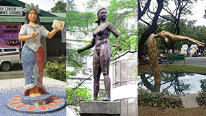 Check Out These Powerful Female Sculptures In Up Diliman