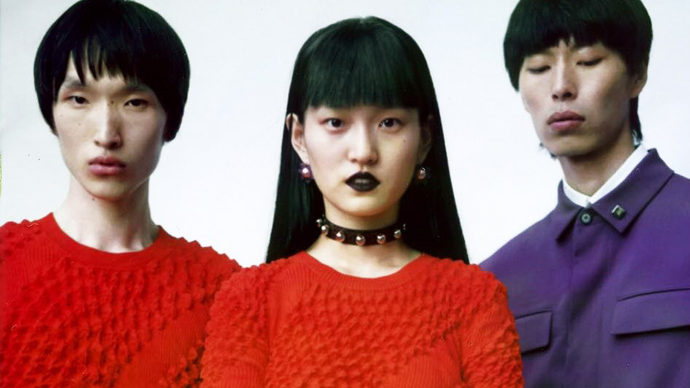 Kenzo's Latest Fashion Show Features All-asian Models