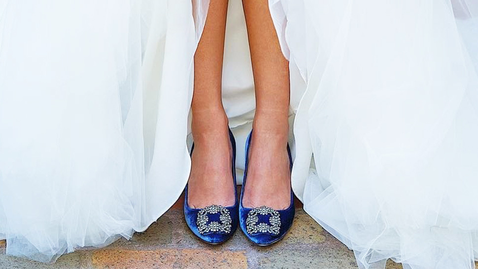 "10 Items You Can Wear to Your Wedding for ""Something Blue"""