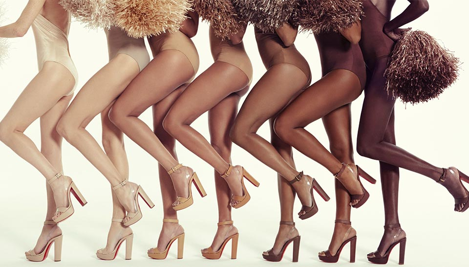 These Christian Louboutin Sandals Come In All Shades Of Nude