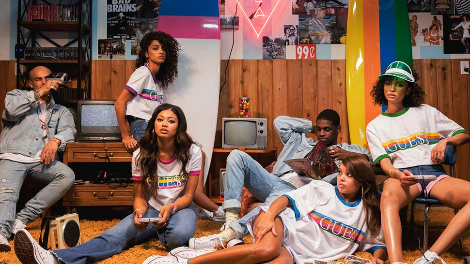 A$ap Rocky's Latest Guess Collection Is A Major '90s Throwback