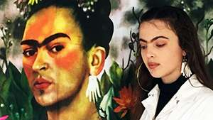 This Model's Unibrow Looks Exactly Like Frida Kahlo's