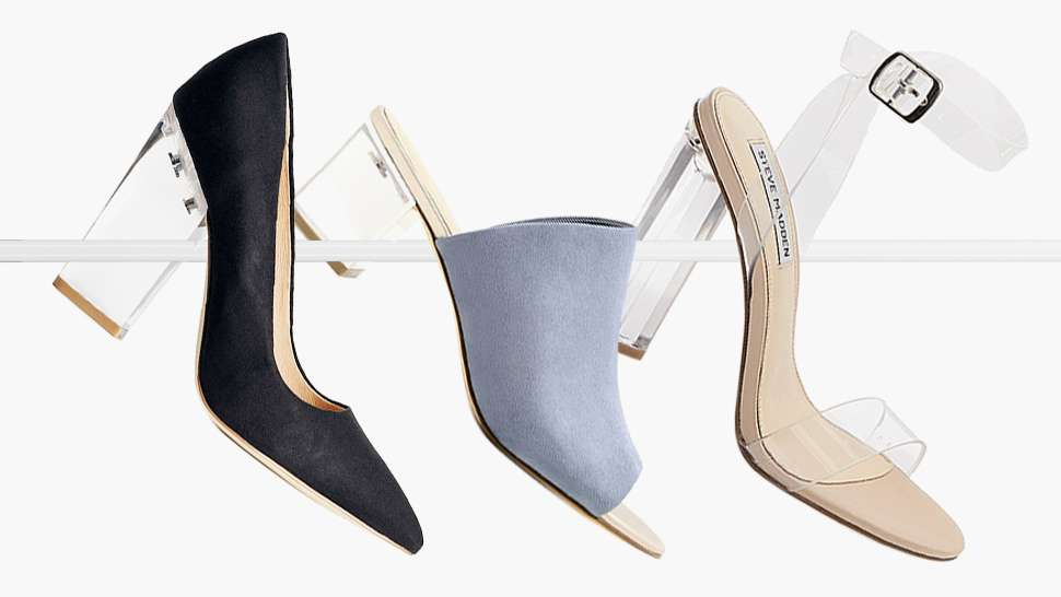 16 Glass-heeled Shoes That Will Make You Feel Like Cinderella