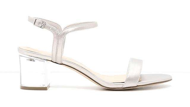 b5e8f0f4bb3 ADVERTISEMENT - CONTINUE READING BELOW. Charles   Keith Lucite heel sandals  ...