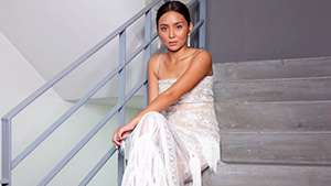 Lotd: Kathryn Bernardo Dazzles In An All-white Fringe Gown