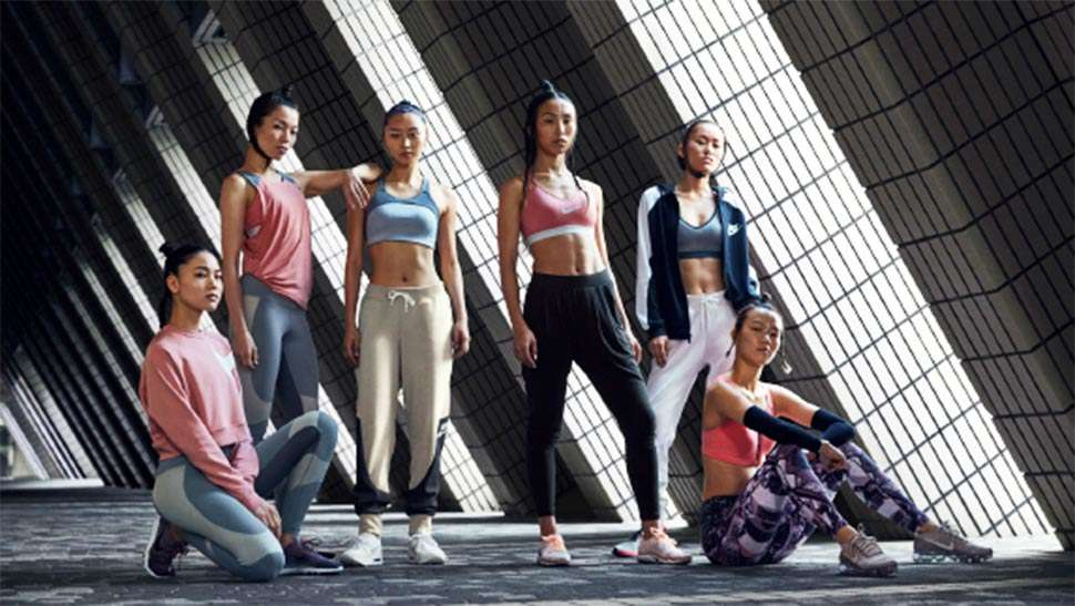 Nike Just Dropped A Millennial Pink-themed Collection