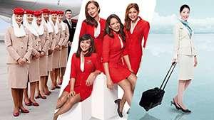 10 Of The Most Stylish Flight Attendant Uniforms