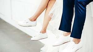 10 Pretty Sneakers For The Practical Bride